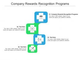 Company Rewards Recognition Programs Ppt Powerpoint Presentation Icon Good Cpb