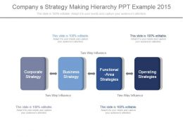 company_s_strategy_making_hierarchy_ppt_example_2015_Slide01