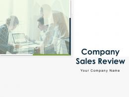 Company Sales Review Powerpoint Presentation Slides