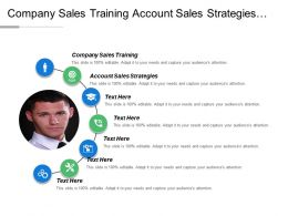 Company Sales Training Account Sales Strategies Sales Management