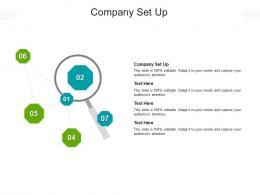 Company Set Up Ppt Powerpoint Presentation Model Slideshow Cpb