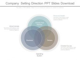 Company Setting Direction Ppt Slides Download