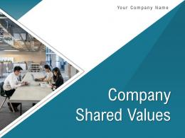 Company Shared Values Powerpoint Presentation Slides