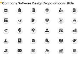 Company Software Design Proposal Icons Slide Ppt File Design