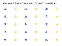 Company Software Upgradation Proposal Icons Slide Ppt Powerpoint Presentation File