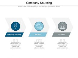 Company Sourcing Ppt Powerpoint Presentation Ideas Icon Cpb