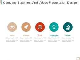 Company Statement And Values Presentation Design
