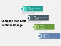 Company Stop Start Continue Change