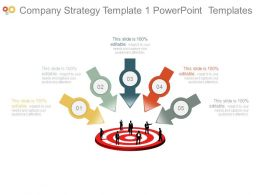 Company Strategy Template1 Powerpoint Templates