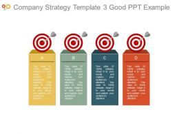 Company Strategy Template3 Good Ppt Example