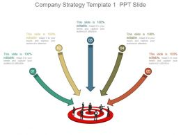 Company Strategy Template 1 Ppt Slide