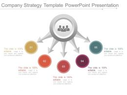 Company Strategy Template Powerpoint Presentation