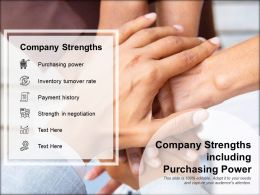 Company Strengths Including Purchasing Power
