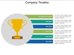 Company Timeline Ppt Powerpoint Presentation Ideas Designs Download Cpb