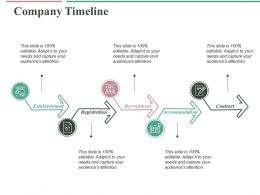 Company Timeline Ppt Slides Graphics Design