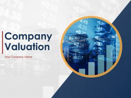 Company Valuation Powerpoint Presentation Slides