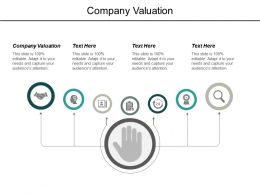 Company Valuation Ppt Powerpoint Presentation Outline Format Ideas Cpb