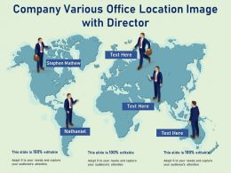 Company Various Office Location Image With Director