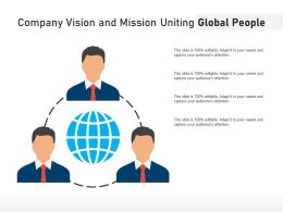 Company Vision And Mission Uniting Global People