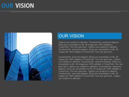 Company Vision Graphics Slide Powerpoint Slides