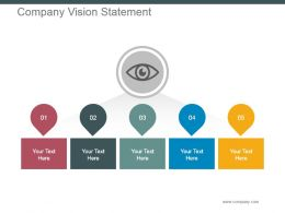 Company Vision Statement Powerpoint Slide Presentation Guidelines
