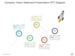 Company Vision Statement Presentation Ppt Diagram