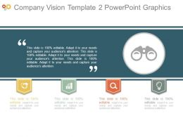 Company Vision Template2 Powerpoint Graphics