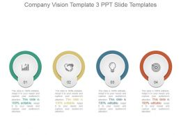 Company Vision Template 3 Ppt Slide Templates