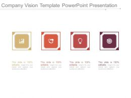 Company Vision Template Powerpoint Presentation