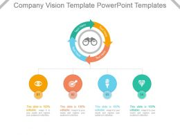 Company Vision Template Powerpoint Templates