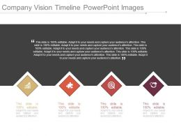 Company Vision Timeline Powerpoint Images
