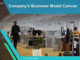 Companys Business Model Canvas Powerpoint Presentation Slides