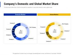 Companys Domestic And Global Market Share Creating Business Monopoly Ppt Powerpoint Tips