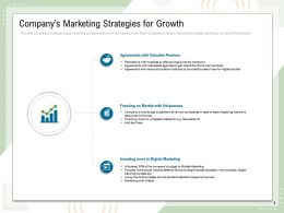 Companys Marketing Strategies For Growth Analytics Target Consumers Ppt Slides
