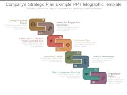 Companys Strategic Plan Example Ppt Infographic Template