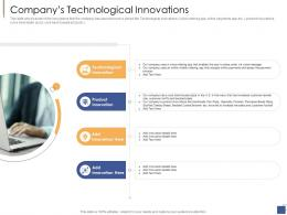 Companys Technological Innovations Investment Generate Funds Private Companies Ppt Information