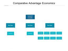 Comparative Advantage Economics Ppt Powerpoint Presentation Icon Cpb