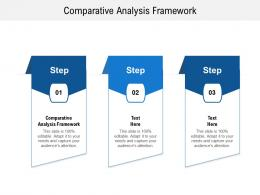 Comparative Analysis Framework Ppt Powerpoint Presentation Show Themes Cpb