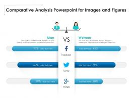 Comparative Analysis Powerpoint For Images And Figures Infographic Template