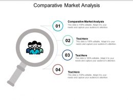 Comparative Market Analysis Ppt Powerpoint Presentation Outline Templates Cpb