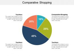 Comparative Shopping Ppt Powerpoint Presentation Ideas Deck Cpb