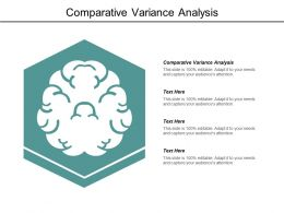 Comparative Variance Analysis Ppt Powerpoint Presentation Themes Cpb