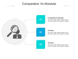 Comparative Vs Absolute Ppt Powerpoint Presentation Slides Microsoft Cpb
