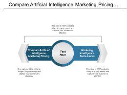 Compare Artificial Intelligence Marketing Pricing Marketing Intelligence Tools Issues Cpb