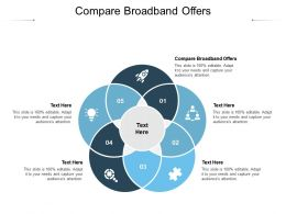 Compare Broadband Offers Ppt Powerpoint Presentation Infographics Images Cpb