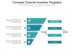 Compare Channel Incentive Programs Ppt Powerpoint Presentation Ideas Slides Cpb