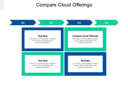 Compare Cloud Offerings Ppt Powerpoint Presentation Ideas Graphic Tips Cpb