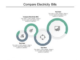 Compare Electricity Bills Ppt Powerpoint Presentation Examples Cpb