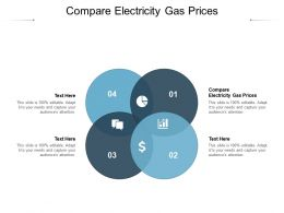 Compare Electricity Gas Prices Ppt Powerpoint Presentation Ideas Example File Cpb