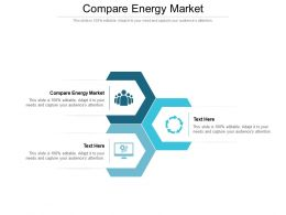 Compare Energy Market Ppt Powerpoint Presentation Gallery Influencers Cpb